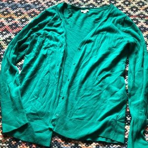 Gently Worn Merona Teal Sweater Sz XL